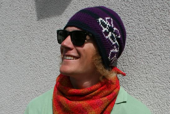 Beanie nr: J.442 & J.443 (scarfes) Viktor